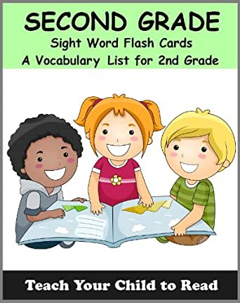 Amazon.com: Second Grade Sight Word Flash Cards: A Vocabulary List ...