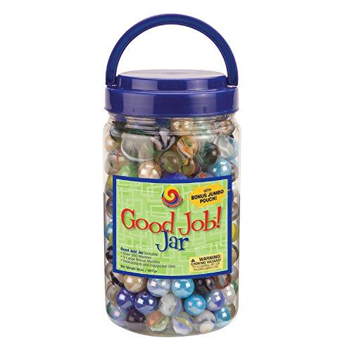 MegaFun USA Good Job Jar with Mega Marbles ()
