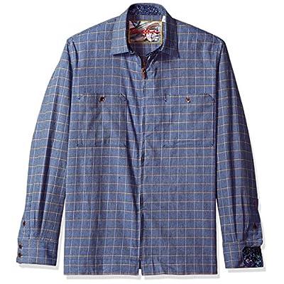 Discount Robert Graham Men's Auburn Long Sleeve Shirt Jacket for cheap