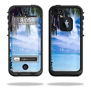 Protective Vinyl Skin Decal Cover for LifeProof iPhone 5 Case 1301 fre Sticker Skins Beach Bum