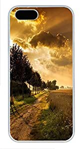Case For Iphone 5/5S Cover landscapes nature 52 PC Custom Case For Iphone 5/5S Cover Cover White