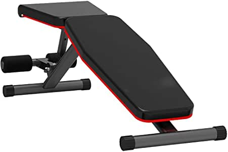 LEOO Adjustable Weight Bench-Incline & Decline to Make A Full Body Workout Foldable Bench