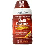 Wellesse Multivitamin Fast Absorbing, Complete B-Complex,Tangy New Citrus Flavor, 16-Fluid-Ounce (Pack of 2)