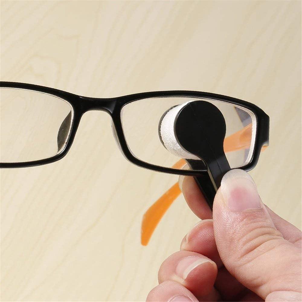 Mouchao Mini Sonnenbrille Brille Mikrofaser Brillenreiniger Pinsel Reinigungswerkzeug Multi-Color