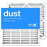 AIRx Filters Dust 19x20x4 Air Filter MERV 8 Replacement for Bryant Carrier FAIC0021A02 FAIC002IA FILBBFNC0021 FILCCFNC0021 to Fit Media Air Cleaner Cabinet Bryant Carrier FNCCAB-0021 FNCCAB0021,2-Pack