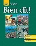 Holt Bien Dit! - French 3, Rheinhart, 0030432189