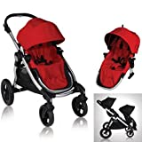 Baby Jogger City Select 2013 with FREE Second Seat Kit - Ruby
