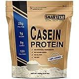 100% Pure Micellar Casein Protein//Cold Processed, Gluten-Free, Soy-Free, Non-GMO, USA, Keto, Zero Carb, Natural BCAAs (1000g/2.2lbs, Unflavored)