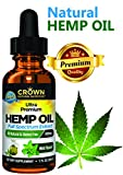 Hemp Oil for Pain & Anxiety, 450 MG Drops Full Spectrum Hemp for Stress, Sleep & Mood, Joint Pain, Skin Health, Inflammation, Omega 3 6 9