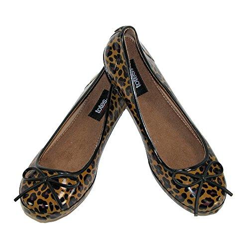 Totes Womens Leopard Print Waterproof
