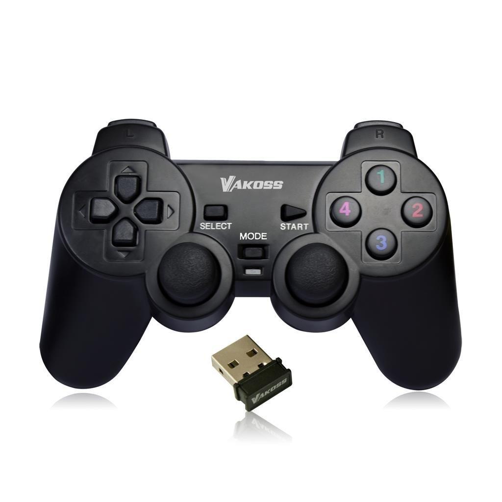Vakoss GP-3925BK Drahtloses Gamepad Schwarz