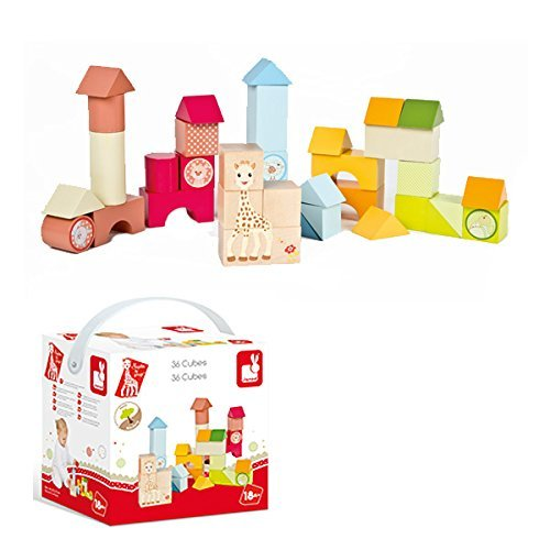 Vulli Blocks, Sophie the Giraffe [並行輸入品]   B015LYST9I