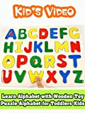 Learn Alphabet with Wooden Toy Puzzle Alphabet for Toddlers Kids