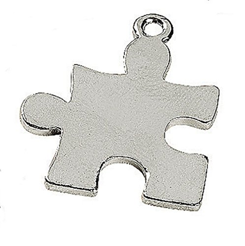 zle Piece Charms Asperger Syndrome Lot of 20 (7/8 inch = 23mm) ()