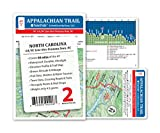 Appalachian Trail Map AT-2 NC Line - Fontana Dam AT Pocket Profile