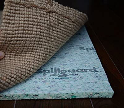 "Spillguard Resistant Rug Pad 1/2"" Thick Rebond - Multiple Sizes"