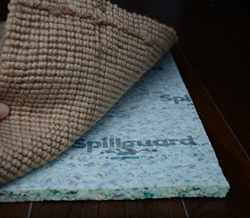 Carpenter, 10'x14', 7/16'' Thick Foam Rebond, Spillguard Resistant Rug Pad by Carpenter