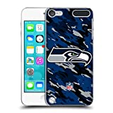 Official NFL Camou Seattle Seahawks Logo Hard Back Case for iPod Touch 5th Gen / 6th Gen