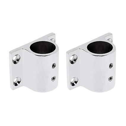 Amazon.com: 2 piezas de riel de mano de acero inoxidable ...