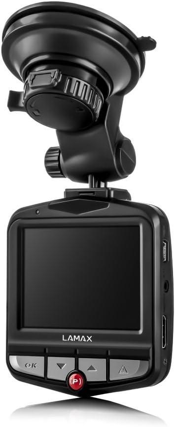 Lamax Lamaxdrivec3 Drive C3 Full Hd Autokamera 1920 X 1080 Pixel Mit Parkmodus G Sensor Bewegungserkennung Schwarz Navigation