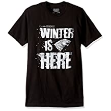 HBO Game Of Thrones mens Winter is Here T-shirt