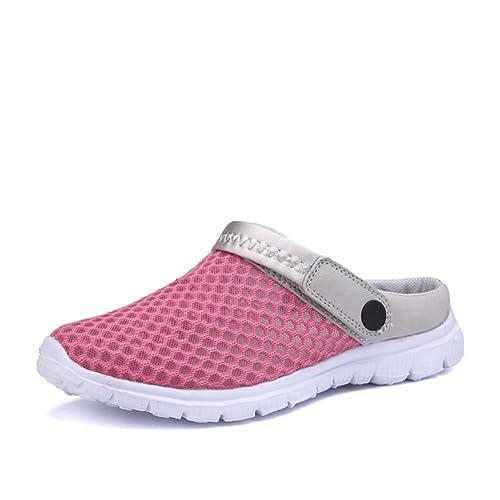 SAGUARO Zapatillas de Verano (32 EU, Rosa 2)