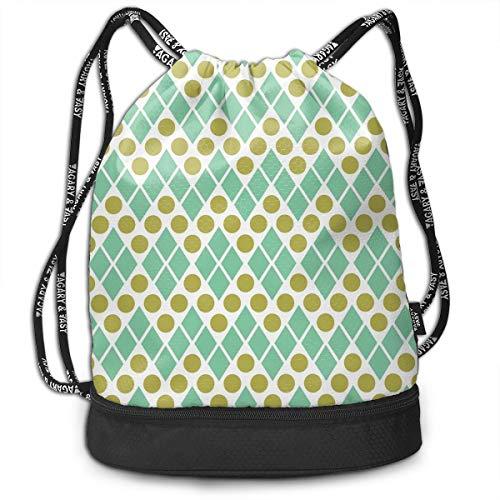Bulk Drawstring Backpack, Lightweight Gym Sport Bundled Bag Wet Dry Separated Yoga String Cinch Tote Bag Multipurpose Casual Bag For Adult Kids - Seattle Public Library]()