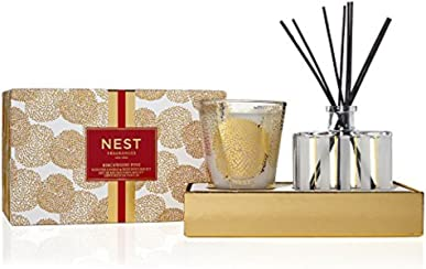 NEST Fragrances NEST58BP001 Classic Candle & Reed Diffuser Set- Birchwood Pine