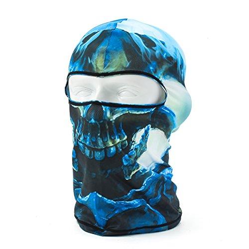 Lycra Skull Face Mask Balaclava Bandana Scarf Face Neck Warmer