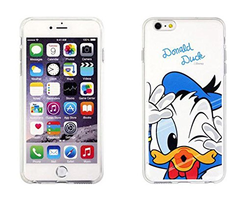 Disney Winnie Mickey Daisy & Donald Duck Clear TPU Soft Case For Apple IPHONE 5/5S DONALD DUCK .1