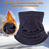 CUIMEI Neck Gaiter Neck Warmer Tube Face Mask Scarf for...