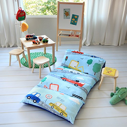 Kid S Floor Pillow Bed Cover Use As Nap Mat Portable