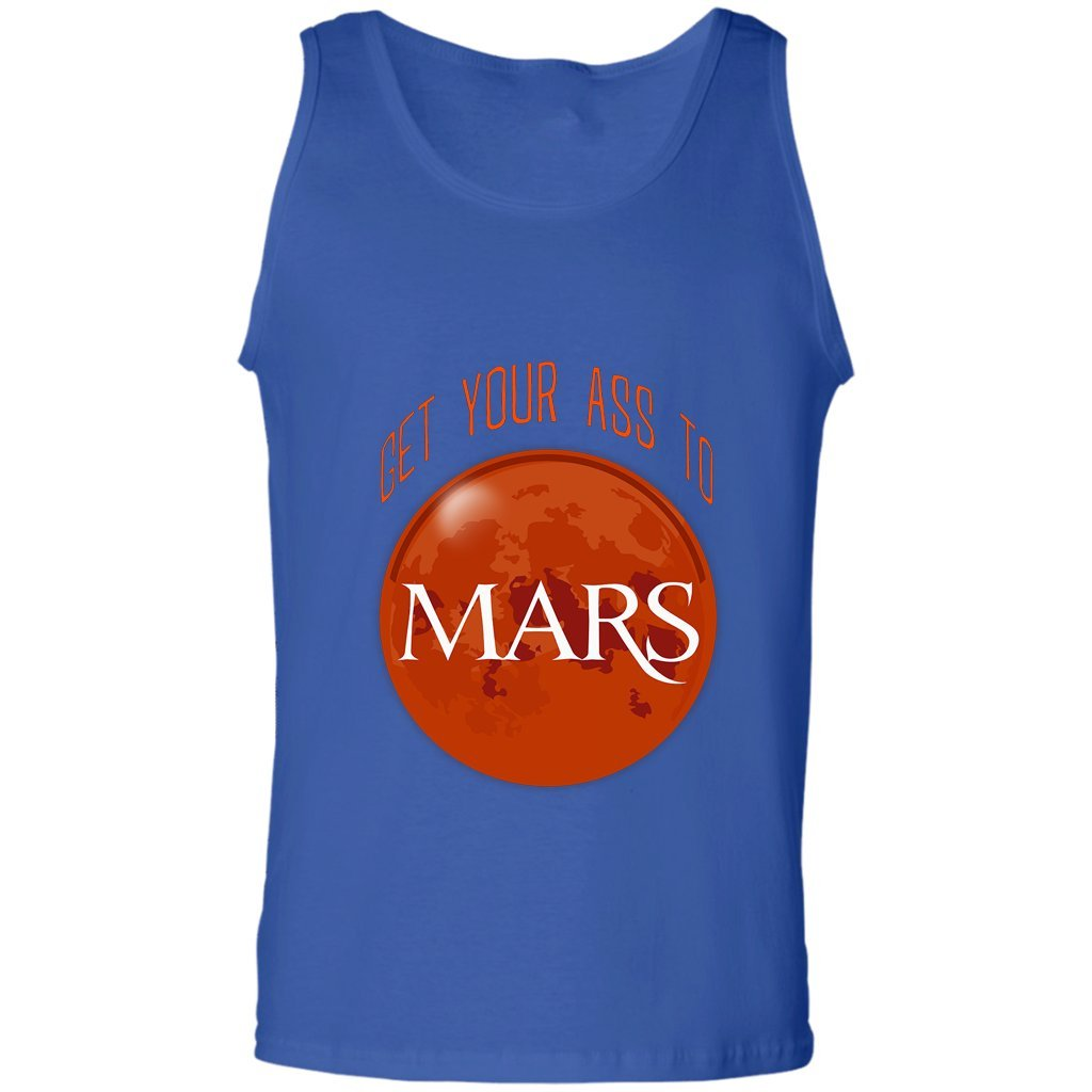 Get Your Ass to Mars Gift Tank Tank Top Occupy Mars