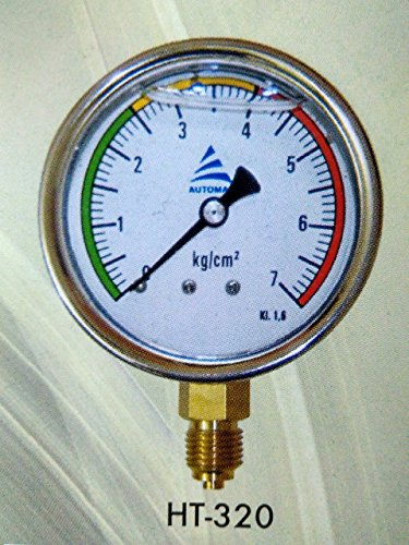 AIPL Drip 7 kg Irrigation Glycerine Filled Bsp Male Threads Stainless Steel Water Pressure Gauge (1/4 Inch/2.5 Inches, Multicolour) (B079W8PJN4) Amazon Price History, Amazon Price Tracker