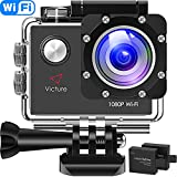 Victure Action Cam Full HD 1080P Wifi...