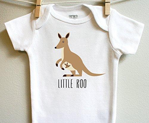 Little Roo Kangaroo Boy Girl Baby Clothes Bodysuit Short Long Sleeve Newborn 3 6 9 12 18 24 Months