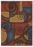 Cheap Mohawk Home Soho Refined Geometric Printed Area Rug, 5'x7′, Multicolor
