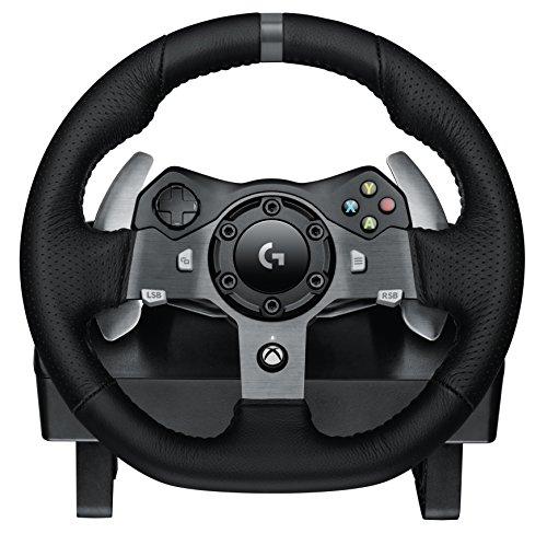 Logitech G920 Driving Force Racing Wheel für Xbox One, PC (UK Version)