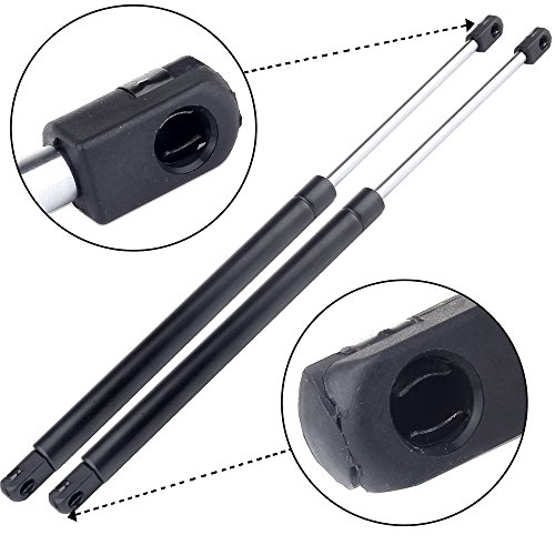 (ECCPP 2pcs Rear Liftgate Lift Supports Struts Rods Gas Springs for Nissan Xterra 2005 2006 2007 2008 2009 2010 2011 2012 2013)