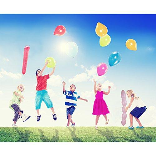 party bundle latex balloon favors 46 piece set helium. Black Bedroom Furniture Sets. Home Design Ideas