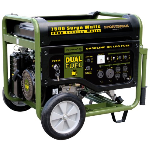 Sportsman Series GEN7500DF Buffalo Tools Lawn & Garden