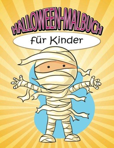 Halloween-Malbuch für Kinder (German Edition)