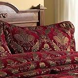Paoletti Shiraz Pillow Sham, Burgundy, 50 x 75 Cm
