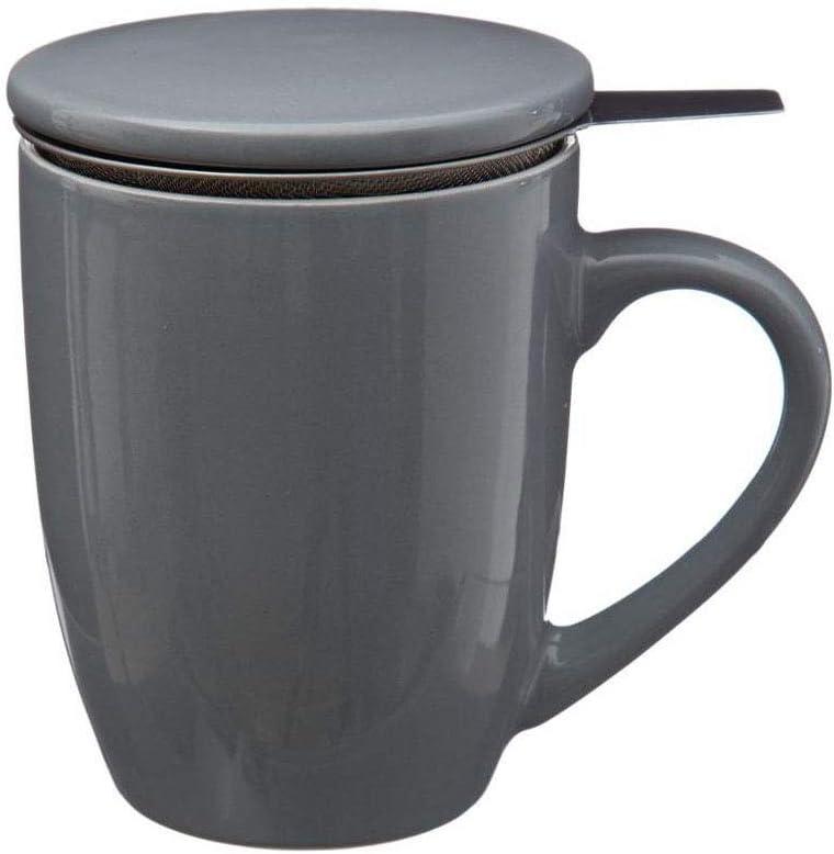 YOKO DESIGN Mug /à th/é Tisani/ère Gris