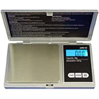American Weigh AMW-600 Silver Precision Digital Pocket Scale 600g x 0.1 gram