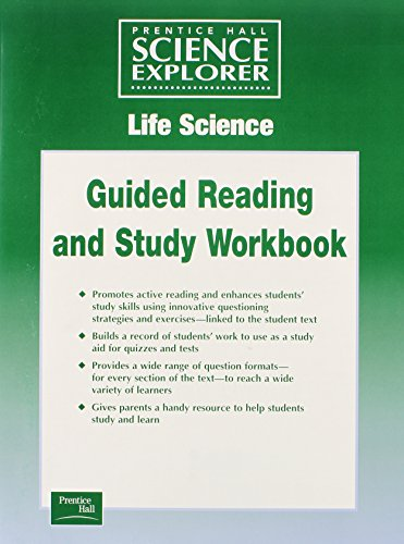 SCIENCE EXPLORER LIFE SCIENCE GUIDED STUDY WORKSHEETS SE 2001C (Prentice Hall Science Explorer : Life Science)