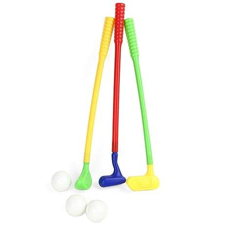 TEEPAO - Juego de Palos de Golf de plástico para niños y ...