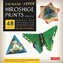 """Origami Paper - Hiroshige Prints - Small 6 3/4"""" - 48 Sheets: Tuttle Origami Paper: High-Quality Origami Sheets Printed with 8 Different Designs: Instructions for 6 Projects Included"""
