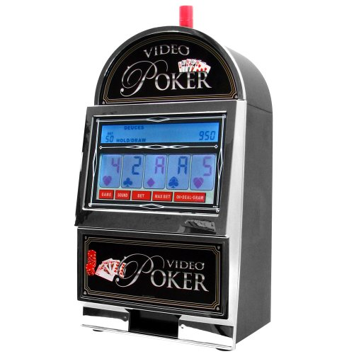John N. Hansen Company Mega Screen Video Poker with Back-Lit Color LCD Touch-Screen by RecZone