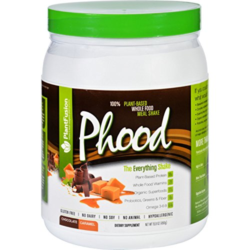 PlantFusion Phood Shake Chocolate Caramel product image